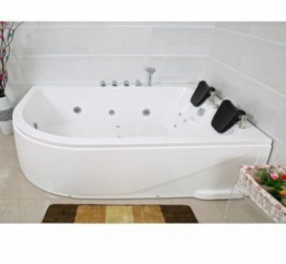 Home Deluxe Whirlpool Blue Ocean XL, Anschlag links