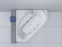 HOME DELUXE Whirlpoolwanne »Apollo L«