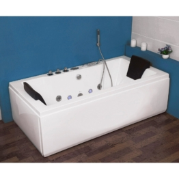 Whirlpoolwanne »White M Light «, B/T/H in cm: 180/90/55